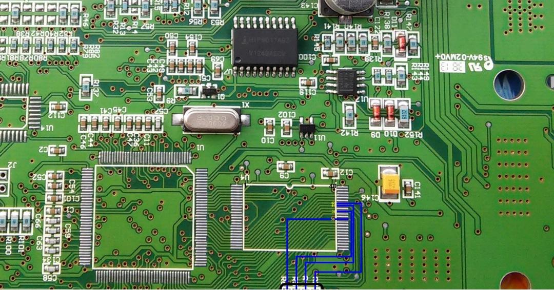 راهنمای تعمیر  ایسیوssat قسمت IC فلش و ....