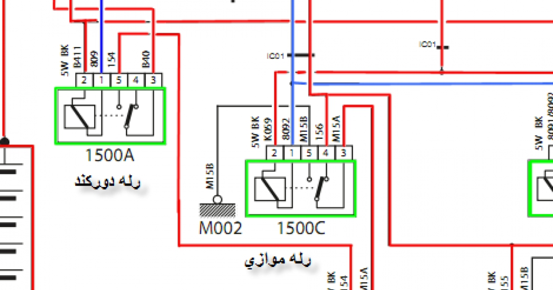 راهنما و نقشه سوخت رسانی سمندxu7 زیمنس اکوماکس