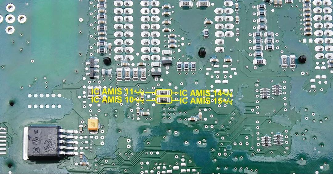 تعمیر CCN ای سی 104AQ  و AMIS 4168 NGA