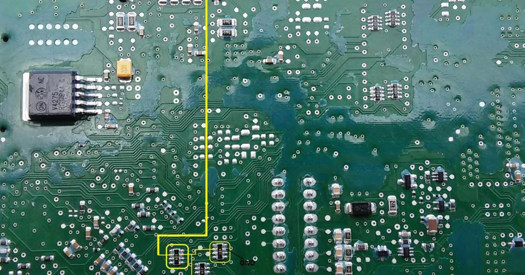 راهنمای تعمیر ccn سمند قدیم قسمت کلید لامپ نور پایین ازدسته راهنما