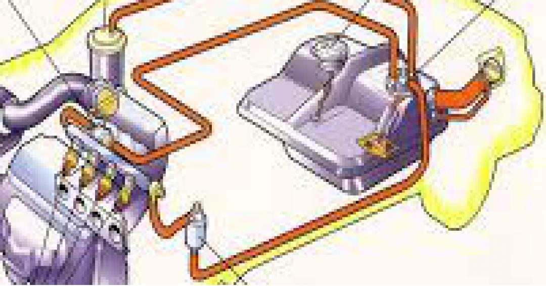 نقشه سوخت رسانی خودرو روا  تک گانه