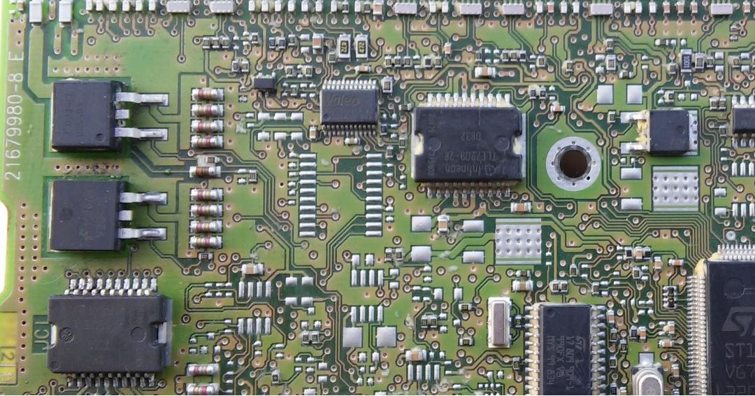 راهنمای تعمیر ecu j34 قسمت رگلاتور و شبکه
