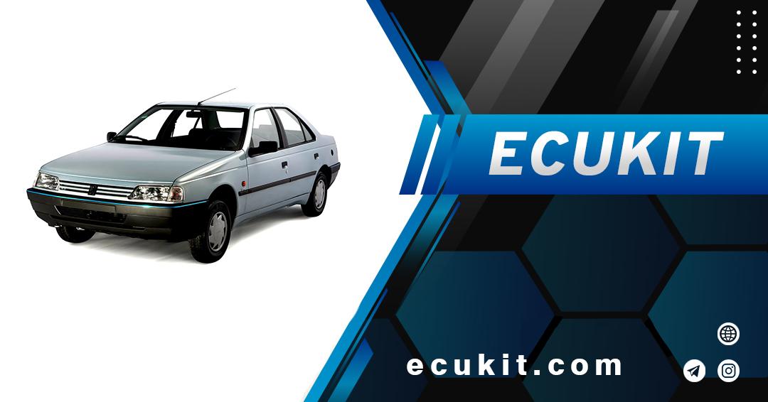 نقشه الکتریکال ECU خودرو روا سال بنزینی