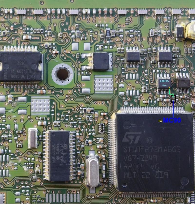 آموزش کامل تعمیر ایسیو (206)  j34  مدار یابی رفع قعطی مدار دیتاشیت و.....