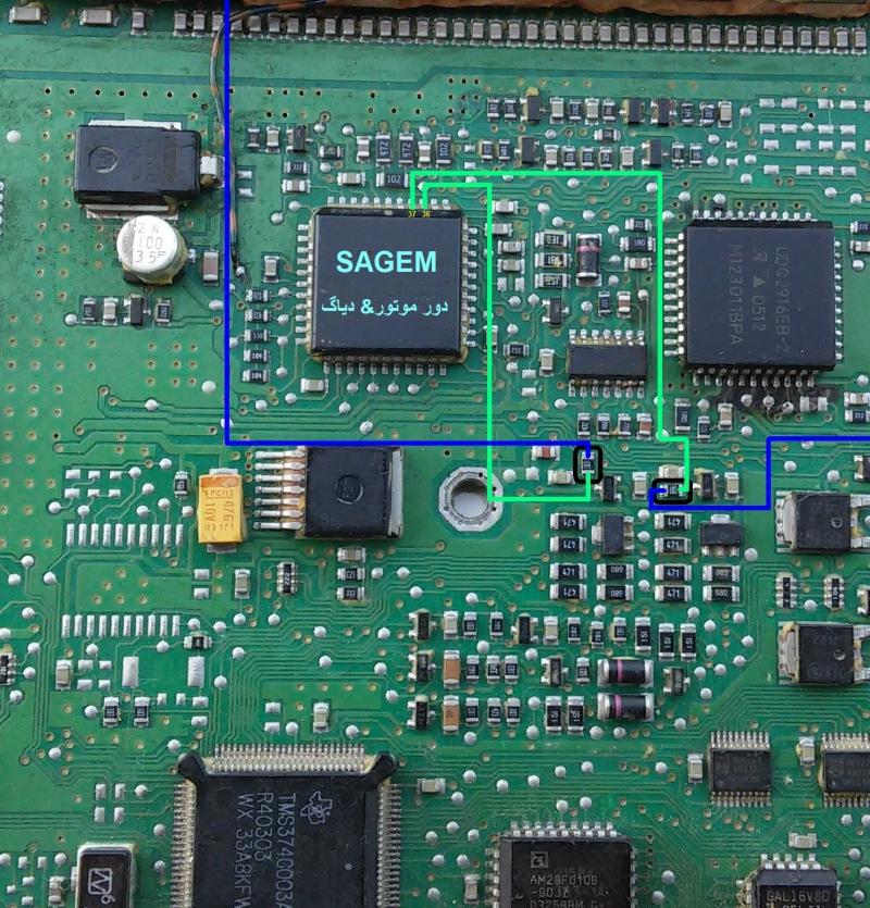 آموزش کامل تعمیر ایسیو  SL96 مدار یابی رفع قعطی برد و..........